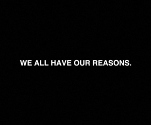 quotes, reason, and black image
