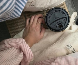 clothes, couple, and coffee image