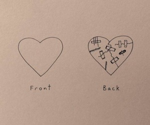 alternative, broken, and heart image