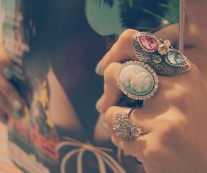 fashion, gorgeous, and rings image