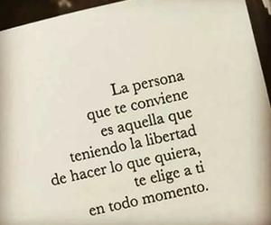 amor, frases, and libertad image