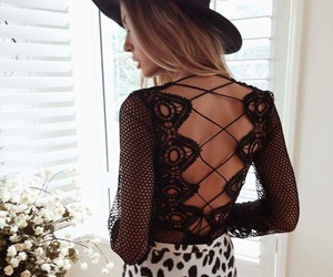 back, beauty, and clothes image