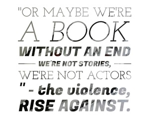 music, rise against, and the violence image