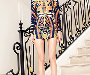 Balmain and fashion image