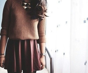 autumn, dress, and pretty image