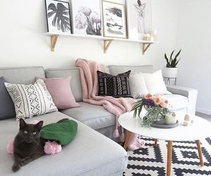 house, living room, and decor image