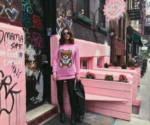 pink, Bruna, and ny image