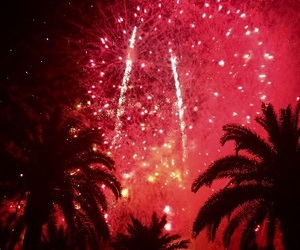 Espagne, salou, and firework image