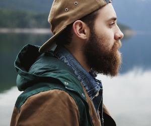 beard and vintage image