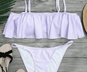 bikini and lilac image