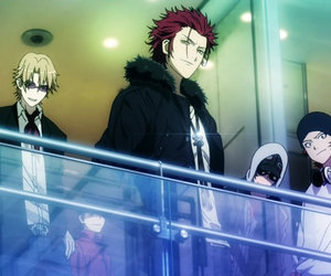 anime, k project, and manga image
