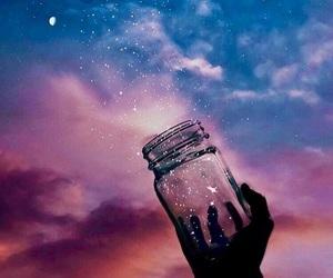 blue, dreams, and galaxy image