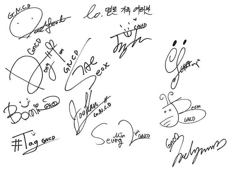 debut, signature, and golden child image