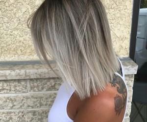 blonde, short, and fashion image