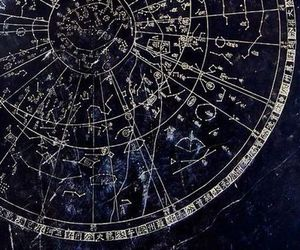 blue, stars, and astrology image