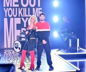 bebe rexha, louis tomlinson, and back to you image