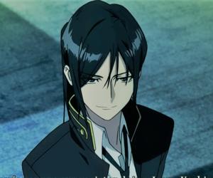anime, black dog, and yatogami kuroh image