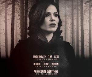 evil queen and regina mills image
