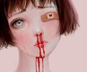 art, girl, and saccstry image