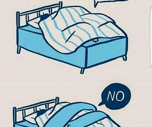 funny, haha, and my bed image