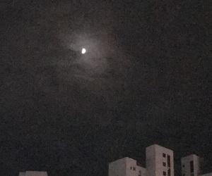 aesthetics, black, and moon image