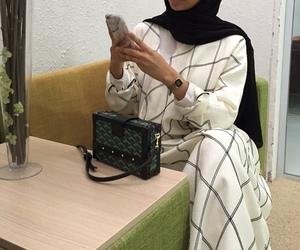 hijab and abaya image