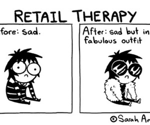 funny, sad, and sarah andersen image