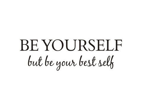 quote, yourself, and text image