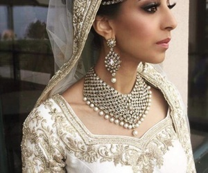 amour, indian, and wedding image