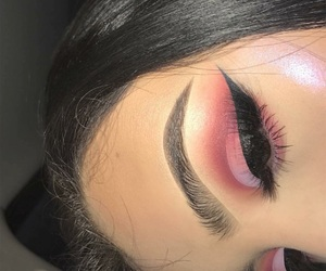 candy, eyebrows, and glam image