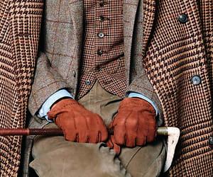 brown, elegant, and gentlemen image