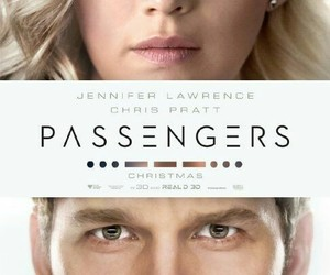 passengers, Jennifer Lawrence, and chris pratt image