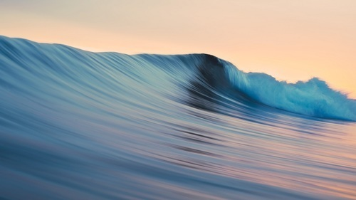 beautiful and waves image