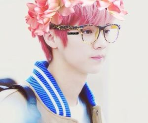 edit, exo, and flower crown image