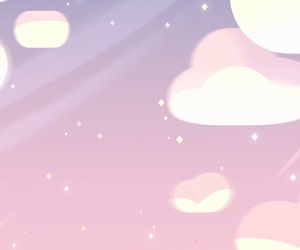 cloud, pink, and sky image