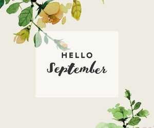 September, hello september, and hello autumn image