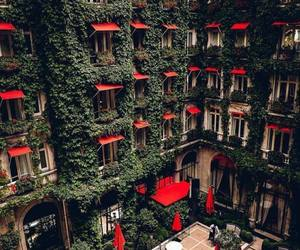 red, paris, and green image