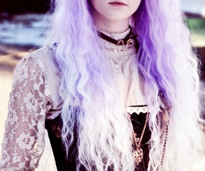 pastel goth, hair, and pastel image