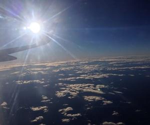 cloud, nuvem, and voo image