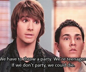 big time rush and party image