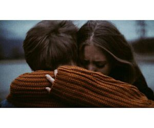 boy and hug image