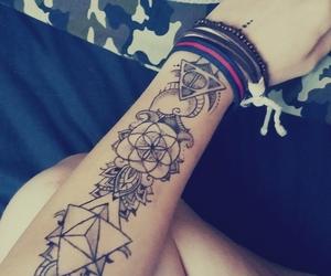 fashion, girl, and henna image
