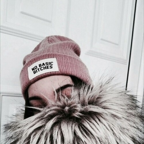 fashion, girl, and beanie image