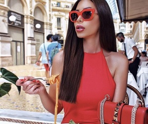 babe, food, and italy image