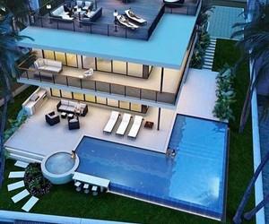 beautiful, big, and house image