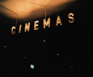 cinema, vintage, and dark image