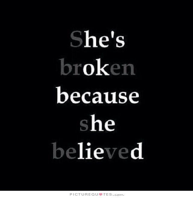 broken, sad, and lies image