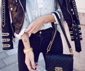 fashion, style, and kenza zouiten image