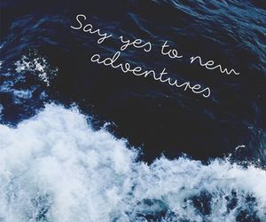 wallpaper, adventure, and quotes image