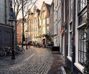 travel, amsterdam, and netherlands image